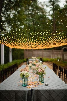 Garden Party Deco - 50 ideas how to make your party more beautiful - Dekoration - Decoration ideas - Deko ideen - Garten Ideen Reception Table, Wedding Reception, Party Wedding, Wedding Dinner, Wedding Seating, Wedding Veils, Budget Wedding, Reception Ideas, Dinner Table