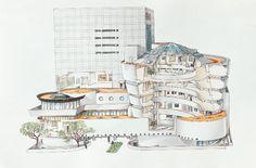 Guggenheim Museum Section | Solomon R. Guggenheim Museum, New York City