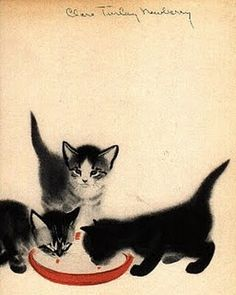 Mittens - Clare Turlay Newberry - I loved this book when I was a little girl