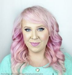 Light pink hair color by Murphysbeautylaw