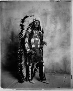 Jack Red Cloud, (the son of Maȟpíya Lúta or Chief Red Cloud & Pretty Owl or Mary Good Road) - Oglala - 1913