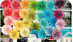 Summer Rainbow Birthday Party (or Rainbow wedding)