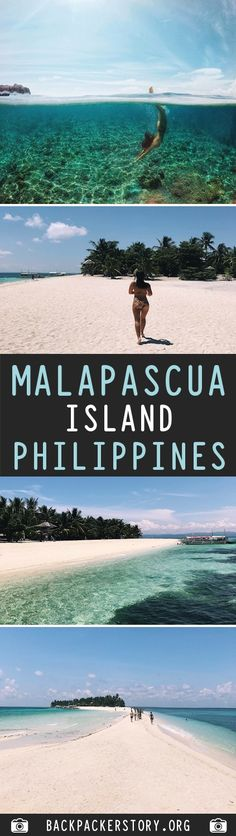 Malapascua is an island located north of Cebu in the Philippines. Malapascua is close to Kalanggaman Island and known for beautiful beaches, great diving Philippines Travel Guide, Visit Philippines, Philippines Beaches, Manila Philippines, Philippines Vacation, Bohol, Palawan, Cebu City, Kalanggaman Island