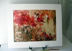 Original Encaustic Painting  from Artist direct  by StudioSabine