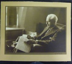 A photograph of writer John Galsworthy