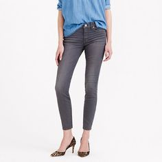 Toothpick jean in grey dove. Ooooh, pretty grey jeans. I like it.