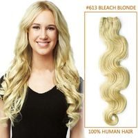 New 2014 Remy Brazilian Body Wave Hair 3 Pcs Extensions Free Shipping Blonde Human Hair Weaves 8-30 Inch Mixed Length For Short