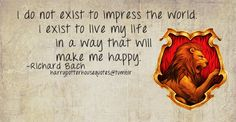 Harry Potter House Quotes -- Gryffindor -- Richard Bach