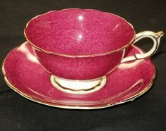 PARAGON Strawberry's N Cream Tea Cup And Saucer