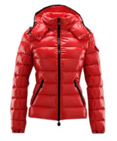 moncler red jacket womens