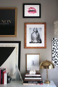 Erika's Femme Modern Gallery Wall
