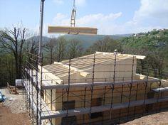 Cantiere NUR-HOLZ - Brione (BS) - Lavori di nuova costruzione