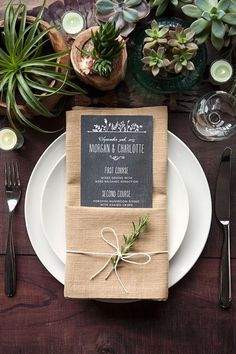 Shabby Chic Wedding Table Decorations Simple Ideas For 2019 Wedding Places, Wedding Menu, Chic Wedding, Wedding Reception, Wedding Rustic, Wedding Ideas, Trendy Wedding, Wedding Foods, Lesbian Wedding