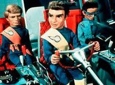 Thunderbirds foi um seriado de animações feito com marionetes. Os Thunderbirds formavam uma organização secreta de resgate internacional.