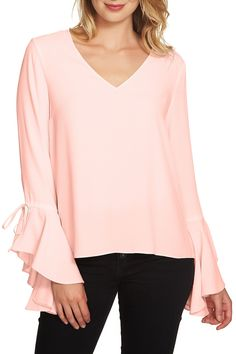 Cascade Sleeve Blouse by 1.State on @nordstrom_rack