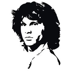 Jim Morrison scroll saw pattern