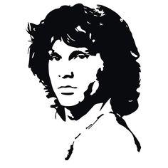 Jim Morrison scroll saw pattern