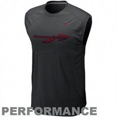 464098dc5b8a Nike Washington Huskies Speed Fly Performance Sleeveless T-Shirt - Black