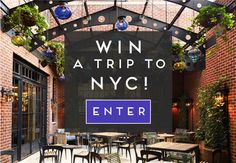 Win a Fabulous Foodie Weekend in NYC!