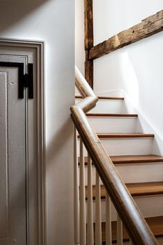 Massachusetts Farm House - farmhouse - staircase - new york - Crisp Architects