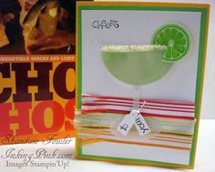 Happy Hour punch art margarita glass by frou frou - Cards and Paper Crafts at Splitcoaststampers