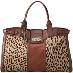 Fossil Handbag, Vintage Reissue Weekender Bag ($248) found on Polyvore @ Macy's