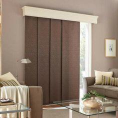 rideau salon brun et mur taupe : tendance annee 2010