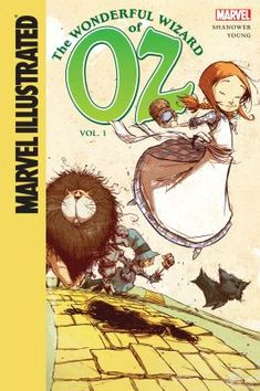 The wonderful Wizard of Oz. Vol. 1, by Eric Shanower. (Spotlight, a division of the ABDO Group, 2014). Volume one of an eight-volume, graphic novel adaptation of L. Frank Baum's tales of Dorothy, a little girl from Kansas who is blown by a storm to the magical land of Oz, where she has amazing adventures while trying to get home.