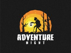 Adventure Night by Modal Tampang | Dribbble | Dribbble Logo Professionnel, Site Logo, Travel Baby Showers, Logo Process, You Better Work, Great Logos, Badge Design, Logo Design Inspiration, Icon Design