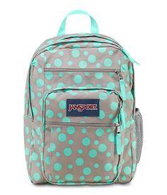 New-JanSport-Big-Student-TDN7-Backpack-Gray-School-Book-Bag-Navy ...