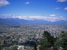 Santiago and the Andes Beyond, Chile, South America