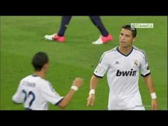 Cristiano Ronaldo's goal against Barcelona in the Spanish Super Cup 2012