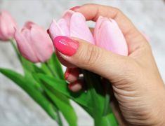 ombre na paznokciach hybryda