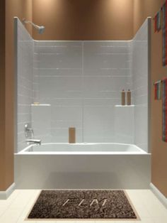 a bathtub bath or or tub informal is a large container shower units whirlpool