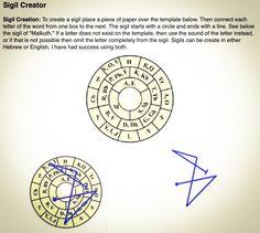 Wiccan Symbols, Magic Symbols, Sigil Magic, Magic Spells, Wicca Witchcraft, Magick, Pagan, Grimoire Book, Alphabet Symbols