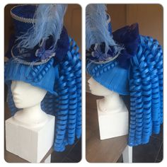 Foam pruik/ foam wig Cosplay Diy, Cosplay Dress, Costume Hats, Costume Makeup, Carnival Costumes, Halloween Costumes, Foam Wigs, Lush Wigs, Diy Wig