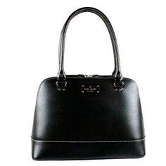Kate Spade New York Wellesley Rachelle Shoulder Handbag Black Leather WKRU1431