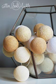 10 kul Sable Cotton Ball Lights