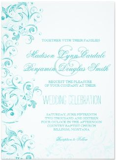 57 Best Turquoise Wedding Invitations Images Country Wedding Cakes