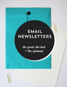 email newsletters for creatives