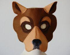 Bear Mask PDF Pattern por oxeyedaisey en Etsy