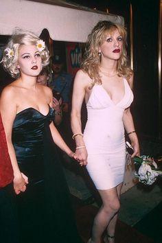 Drew Barrymore & Courtney Love