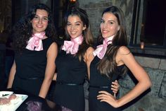 Nouba event staff greeting guests for a magical evening at Hellobabybar.