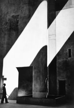 """Lucien Hervé """"the photographer with the soul of an architect."""" - Le Corbusier"""