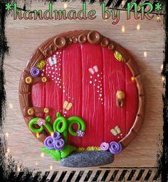 #fimo #fimoclay #handmade #zauber #märchenwelt #feentür #