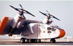 Экспериментальный конвертоплан Hiller X-18 (США) » Военное обозрение