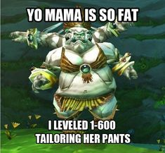 Tailoring pants-world of warcraft