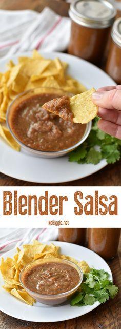 blender salsa | so g