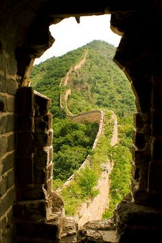 You're not a great (wo)man until you've walked the Great Wall.  The Great Wall of China