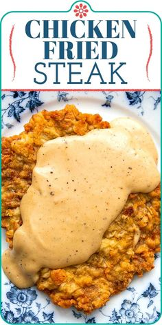Apr 2020 - To make classic Chicken Fried Steak, pound steak cutlets thin, then bread and fry. Serve with rich country gravy. Chicken Fried Steak is a Southern favorite! Cube Steak Recipes, Beef Recipes, Chicken Recipes, Cooking Recipes, Salad Recipes, Game Recipes, Cooking Time, Southern Dinner, Country Dinner